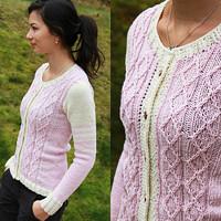 Návod na dámský pletený svetr (cardigan) - XS - XL 2ab98b403e