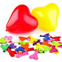 4fb40a60f204 Nafukovací balónky srdce (10ks) - mix