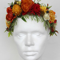 Květinové čelenky   Zboží prodejce PEPE Cap by Radka  0eefea496a
