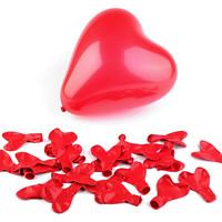 193225bdb137 Nafukovací balónky srdce (10ks) - červená
