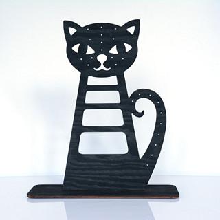 Velká černá kočička pics.com