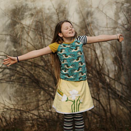 Art deco, Brno a magnolie ... dívčí 8-12 let