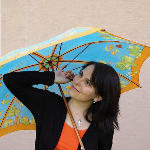 Deštník - Déšť a kroupy, to je hloupý