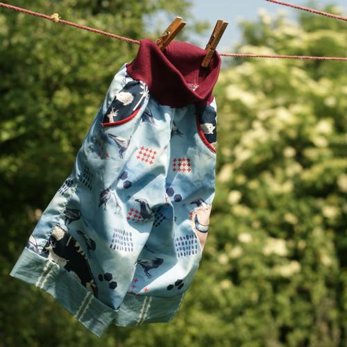 ...krásné miminko svránami ...kalhoty vel 80 BIO