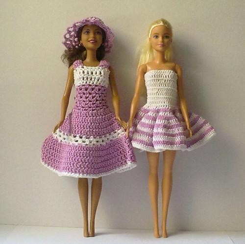 Oblečky pro Barbie