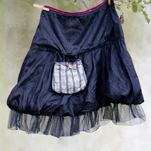 Dušičková...balonová sukně vel S/M