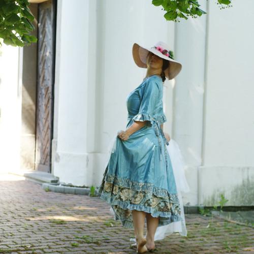 Z jiného století ...dámské šaty S/M