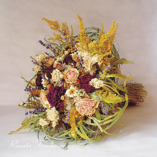 sušená kytice
