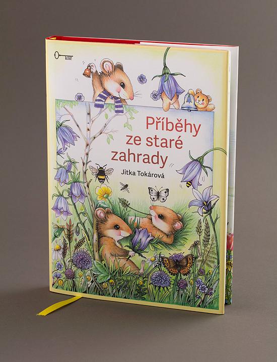 """Obálka knihy """"Příběhy ze staré zahrady"""""""