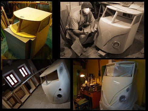 vw bus steampunk hippie design furniture papon