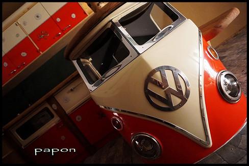 original furniture bulli vw bus kitchen studio art furni hippie styl furni steampunk papon art kuchyně