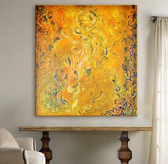 Olej na plátně 90x100