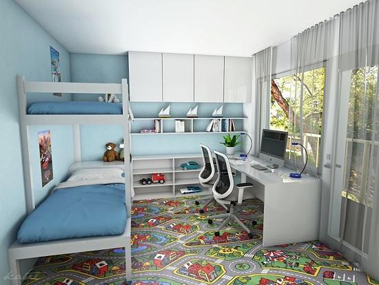 Katee design - návrh dětského pokoje