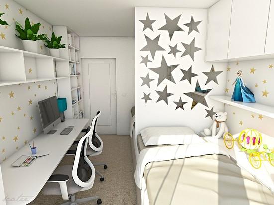 Katee design - princeznovsky pokoj
