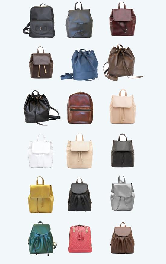 kožené batohy a ruksaky