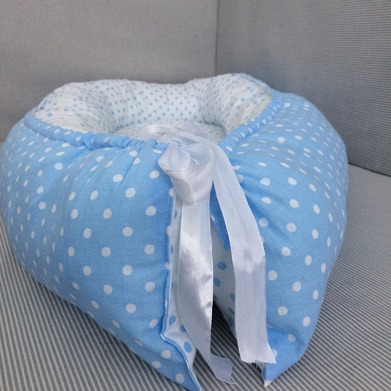hnízdečko pro miminko modré