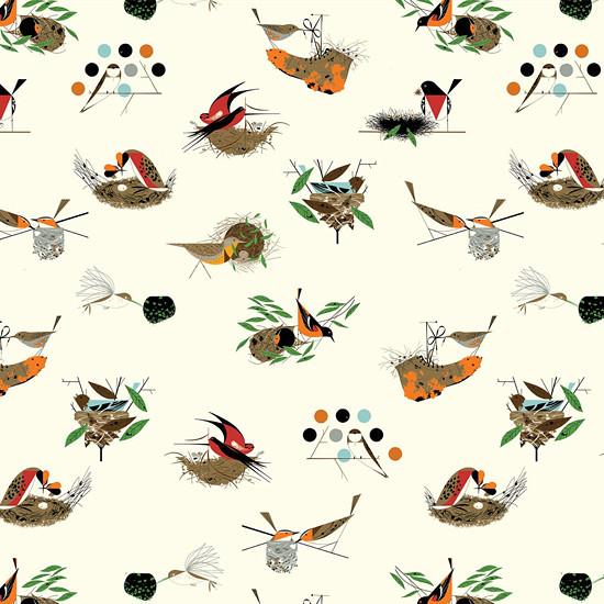 Atlas ptáků III. šaty z bio bavlny šití na míru    Zboží prodejce ... a86d2694fd