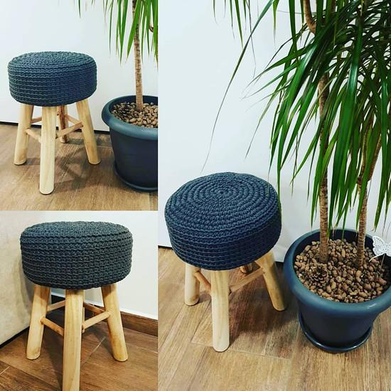 stolička s potahem