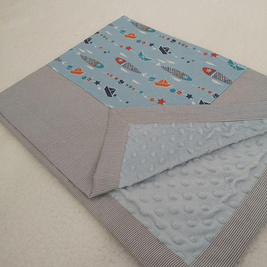 modrá deka pro kluka
