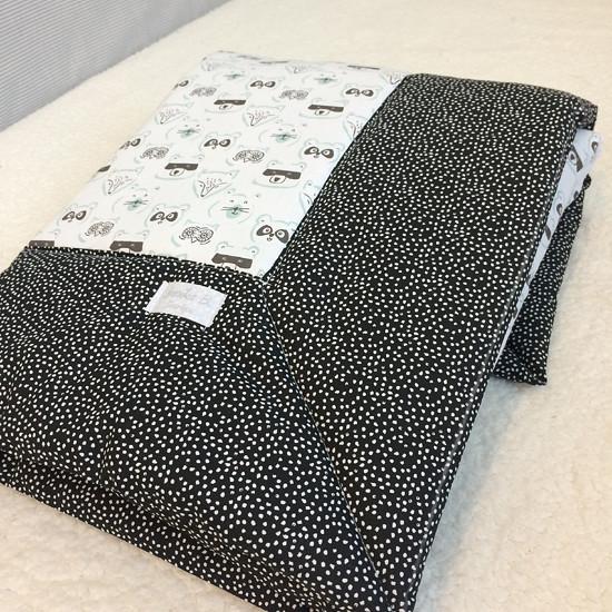 černobílá deka pro miminko