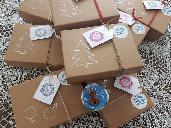 Vánoční balení dárkových kabiček :-)