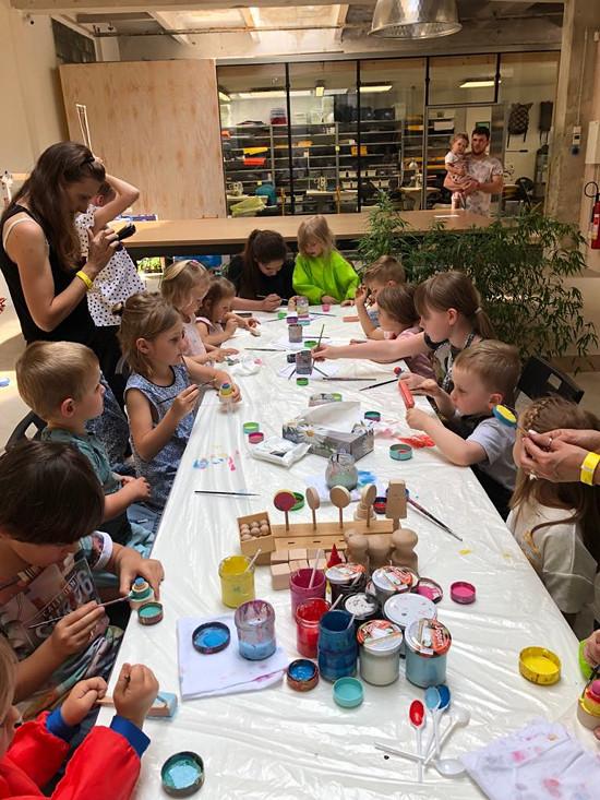 dětský workshop