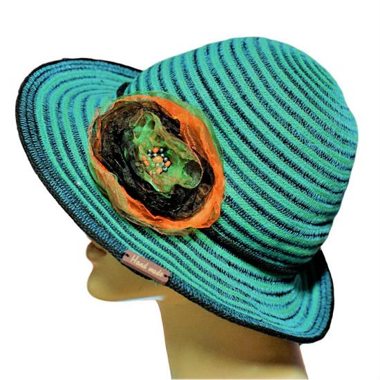Originální ručně předené čepice s nákrčníky a módní doplňky Ledova 6ee10682805