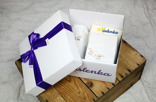 Máslenka dárkový balíček