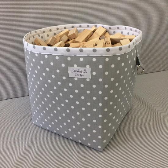 pevný textilní košík