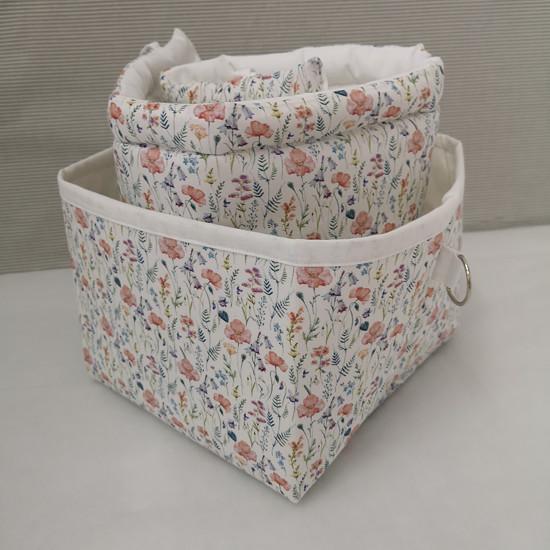 květinové košíky