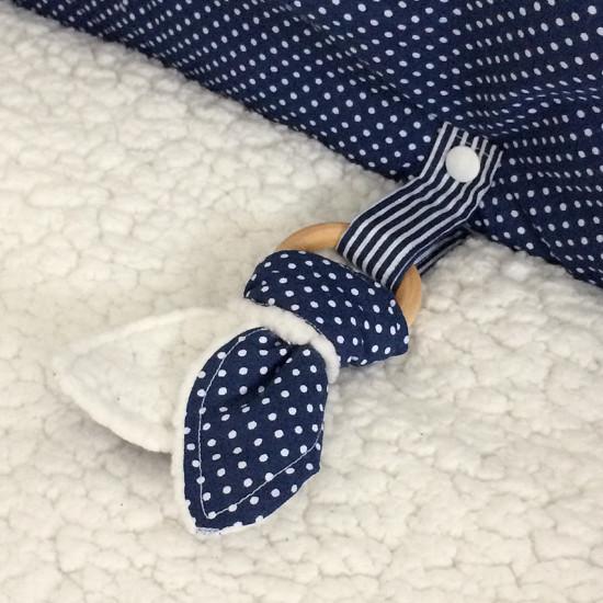 dětská deka s hračkou
