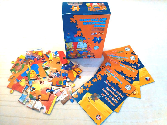 Pohádkové a naučné puzzle
