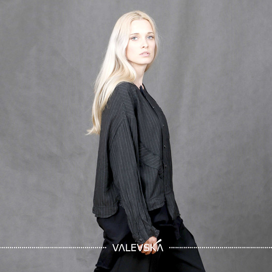 valevska košile udržitelná slow česká móda architekt valevskacom