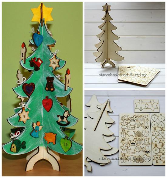 Stromek adventní kalendář
