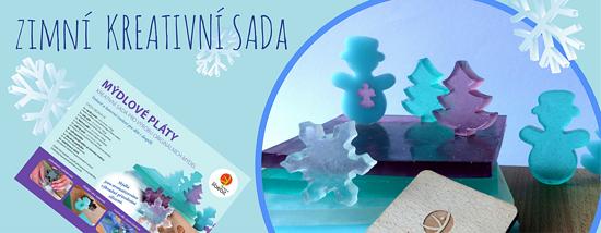 libebit kreativní sada mýdlové pláty zimní