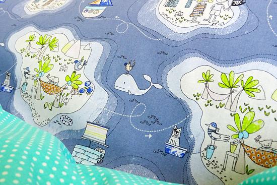 dětské povlečení moře oceán piráti