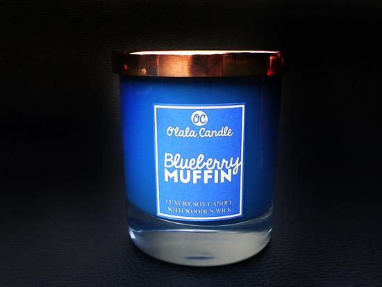 Blueberry Muffin - Luxusní svíčka O'lala Candle